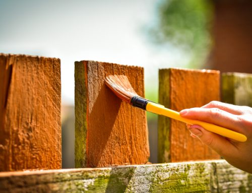 Can You Paint Your Fence When It Rains?