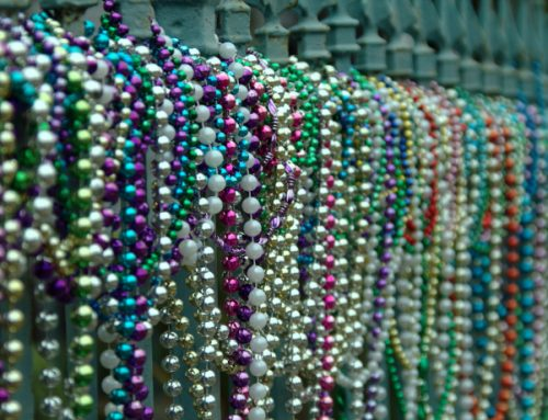 Get Your Fence Mardi Gras Ready